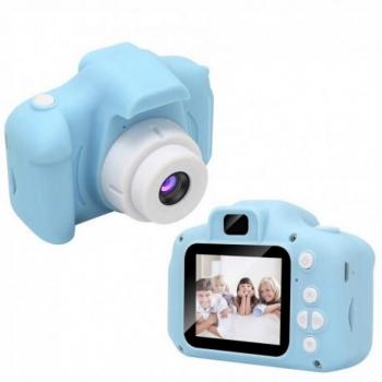 Cámara De Fotos/video Mini Digital Hd Infantil Bn5042 Con Juegos 1080p Azul