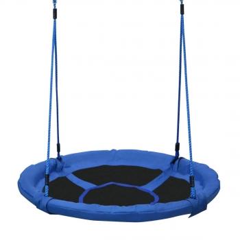 Columpio Nido Infantil Azul Y Negro Homcom