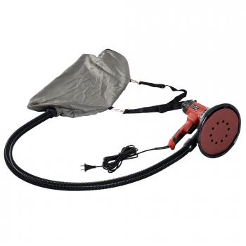 Lijadora De Pared Eléctrica Y Profesional Con Bolsa De Polvo Amoladora Para De Nylon Y Abs Durhand 32x33x27 Cm-rojo Y Negro.