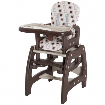d9bc39a5f Homcom® Trona Para Bebé Multifuncional Convertible En Silla Mecedora Y Silla+mesa  Con Cinturón