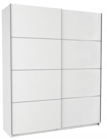 Armarios vestidor y roperos baratos for Armario blanco puerta corredera barato