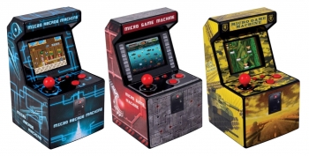 Consola Recreativa Micro Arcade Con 240 Juegos - Color Rojo