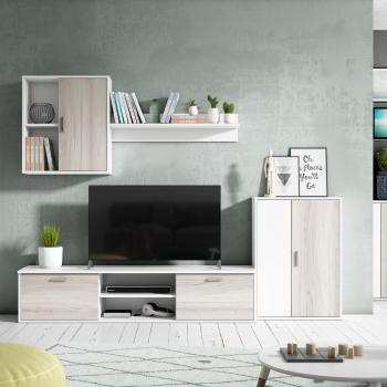 Muebles De Salón Y Televisión Tv Carrefour Es