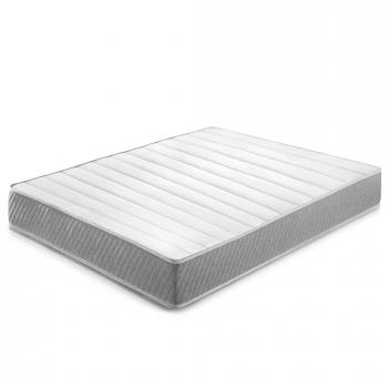 Colchón Soft Confort 140x190 Cm De Muelle Ensacado, 22 Cm De Altura, Reversible