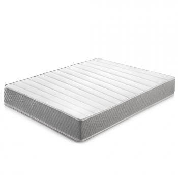 Colchón Soft Confort 180x200 Cm De Muelle Ensacado, 22 Cm De Altura, Reversible