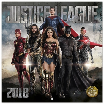 Calendario 2018  Dc Comic Justice League