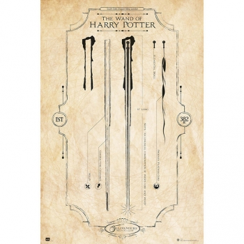 Maxi Poster Harry Potter The Wand