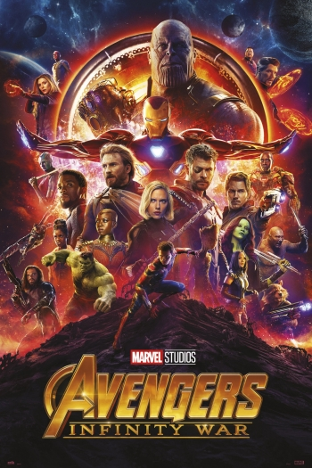Poster Avengers Infinity War One Sheet