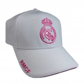 Gorra Oficial Real Madrid Cf Woman Rosa Adulto