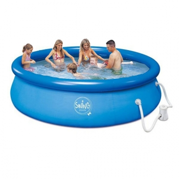 Piscina Hinchable Splash Swing (3,66m X 0,76m)
