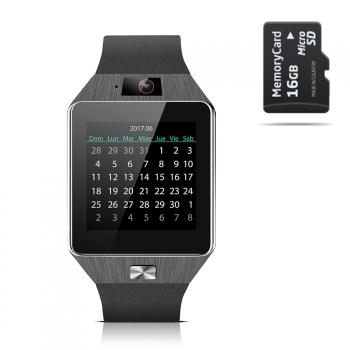 Smartwatch Smartek Sw-842 Negro + 16gb Sd