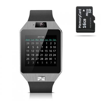 Smartwatch Smartek Sw-842 Plata + 16gb Sd