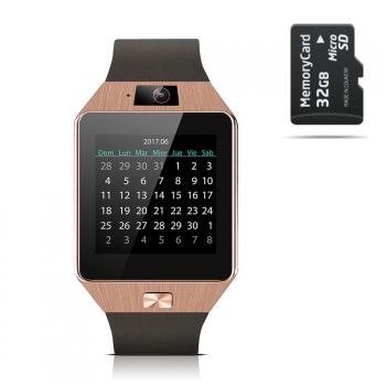 Smartwatch Smartek Sw-842 Oro + 32gb Sd