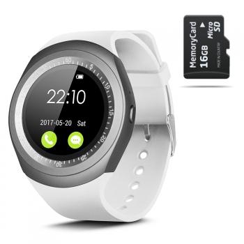 Smartwach Smartek Sw-422 Blanco + 16gb Sd
