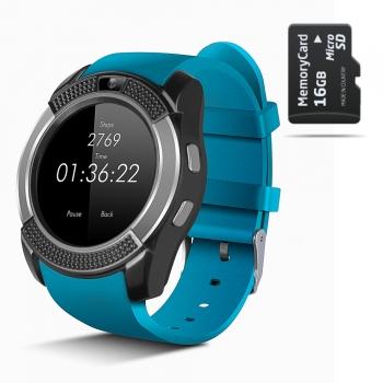 Smartwatch Smartek Sw-432 Azul 16gb