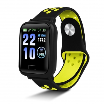 Smartwatch De Smartek Sw-650 En Color Amarillo