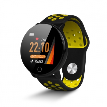 Smartwatch De Smartek Sw-590 En Color Amarillo
