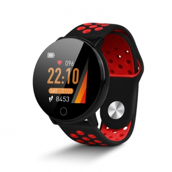 Smartwatch De Smartek Sw-590 En Color Rojo