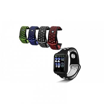 Pack Smartwatch De Smartek Sw-650 Con Cinco Correas De Colores