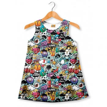 Vestido Fishikii Brains