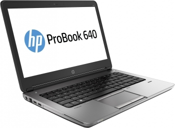 "Hp Probook 640 G1 - Ordenador Portátil Con Pantalla De 14"" (intel Core I5-4200m, 2.5 Ghz ,8 Gb De Ram, Disco Ssd De 128 Gb , Lector, Webcam, Windows 10 Pro)-(reacondicionado)-(teclado Internacional)-(2 Años De Garantía)"