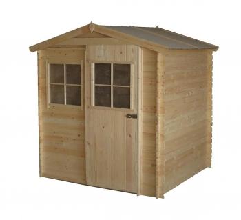 Armarios casetas de madera y arcones para jard n carrefour - Armarios de madera para jardin ...
