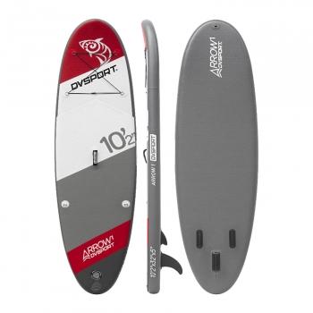 HOMCOM Tabla de Surf Hinchable con Remo Ajustable y Bomba 305x76x15cm Tablas Paddle Surf con 3 Aletas para Mayor Estabilidad Kit de Reparaci/ón Bolsa de Transporte Ideal para Principiantes