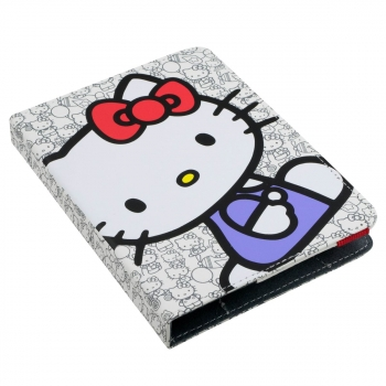 Funda Ebook Evitta Hello Kitty Booklet White