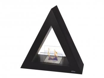 Biochimenea De Suelo Piramidal Color Negro Talia B