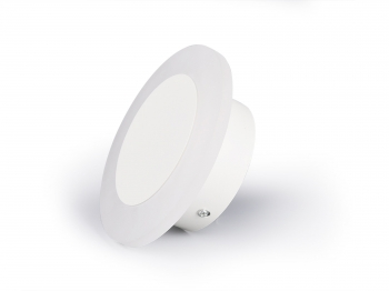 Aplique Led De Pared Luz Blanco Cálido 6 W Wl-moon
