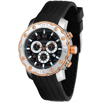 91c0e14395db Reloj De Pulsera Carrera Joyeros Cronografo Para Hombre. Modelo Cj-87.000-n