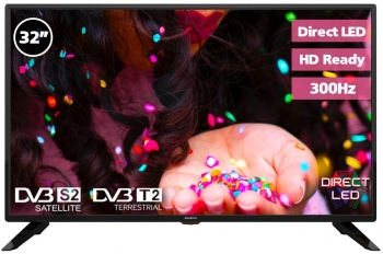 "Tv Led 32"" Infiniton Intv-32m302 - Negro, Hd, Tdt2, Usb, 300hz, Direct Led"