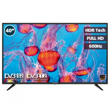 "Tv Led 40"" Infiniton Intv-40m503 - Full Hd, Tdt2, Usb, 500hz, Direct Led"