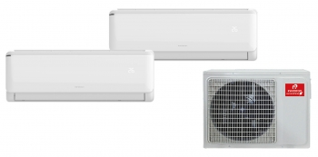Aire Acondicionado Multi-split 3230 Infiniton (2x1, A++ / A+, Inverter, Wifi, Gas R32, Deshumidificador, Funcion Eco, Anti-bacterias) (19000 + 9000 Btu)