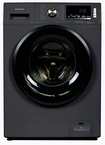 Lavadora Infiniton Wm-99d2 Carga Frontal (black Inox, 9 Kg, A+++, 1400 Rpm, 23 Programas, Easyplay, Independiente)