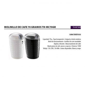 Molinillo Cafe Mc70gr