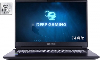 "Deepgaming Exegon - Pc Portátil Gaming 17.3"" Fhd (intel Core I7-10750h, 32gb Ram, 500gb Ssd Nvme, Gtx1650 4gb Gddr5, Windows 10 Pro Preinstalado) - Teclado Qwerty Español"