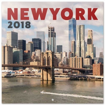 Calendario 2018  Nueva York Color