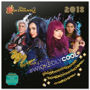Calendario 2018  The Descendants 2