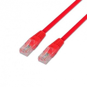 Cable Red Utp Cat6 Rj45 Aisens 0,5m Rojo