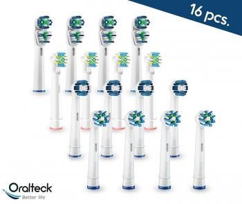 Oralteck 16 Piezas - Cabezales De Cepillos De Dientes Eléctrico Compatibles  Con Oral B. Surtido f177436a86b1