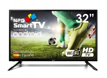 "Tv Led 32"" Npg S420l32h Smart Tv Android Hd Pvr Wifi Bluetooth Tdt2 H.265"