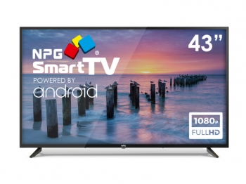 "Tv Led 43"" Npg S420l43f Full Hd Smart Tv Android Tdt2 Wifi Bluetooth Pvr"
