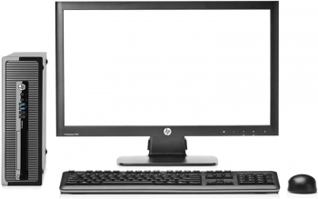 Hp Elitedesk 800 G1 - Ordenador De Sobremesa (intel Core I5-4570, 8gb De Ram, Disco 500gb Hdd, Windows 7 Pro + Windows 10 Pro Upgrade )+tft 20