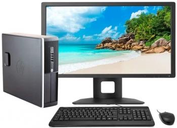 Hp Elite 8300 - Ordenador De Sobremesa Intel Core I5-3470, 4gb De Ram, Disco 250gb Hdd,windows 10 Pro Upgrade + Tft 19
