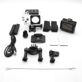 Camara De Accion 4k 30fps + Accesorios 59x24x41mm - Linea Plus - Sk84k