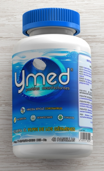 Ymed Forte Pastillas Desinfectantes 48 Unidades