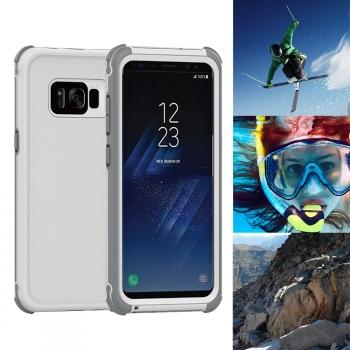 1197ee88a05 Carcasa Acuatica Blanca Para Samsung Galaxy S8 Funda Sumergible Waterproof