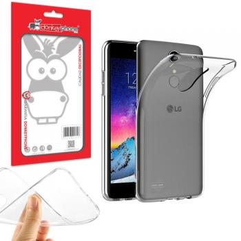6d6e1e5bc1f Donkeyphone - Funda Gel Transparente Para Lg K10 2017 Silicona Ultra Thin - Ultra  Fina 0