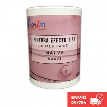 Pintura Chalk Paint Color Malva De 750 Ml